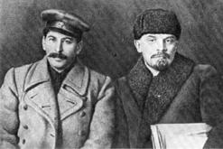 Στάλιν και Λένιν στα 1919. Όχι και τόσο διαφορετικοί, όσο η προπαγανδιστική ιστοριογραφία πασχίζει να αποδείξει
